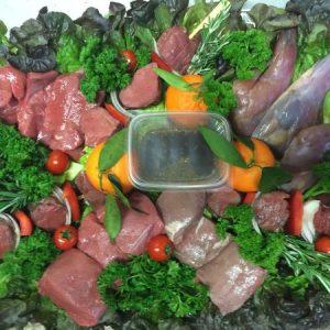 Grillplatte Wildschwein Hirsch Reh Kaninchenkeule online kaufen