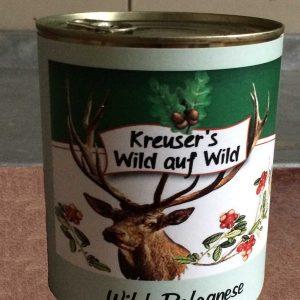 Wildfleisch Wild-Bolognese Wildkonserve Dose online kaufen