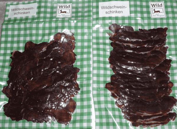 Wildschweinschinken 100 g online kaufen