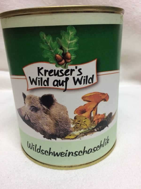 Wildschwein-schaschlik Wildkonserve Dose online kaufen